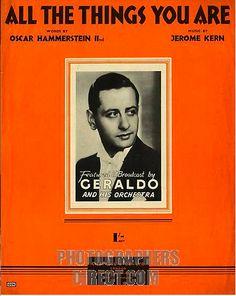 Geraldo and his Orchestra by Confetta, via Flickr