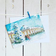 Doppelkarte - Sanssouci