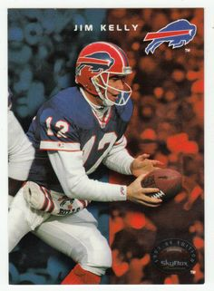 Jim Kelly   68 - 1993 SkyBox Premium Football. Buffalo Bills FootballNfl ... 97e73ab26
