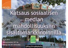 @PauliinaMakela1 11.8.2016 Mainostoimisto SST Oy Viking Line M/S…