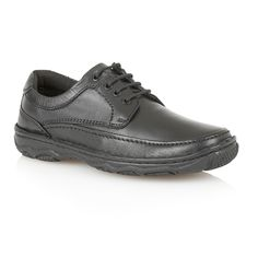Lotus Princeton Lace Up Casual Oxford Shoes, Black