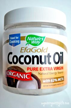 My Merry Messy Life: Coconut Oil as a Natural Face Moisturizer