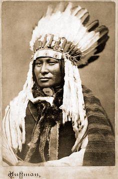 Hunkpapa Chief Rain In The Face 1880