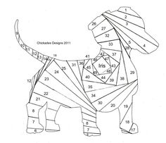 Dachshund Puppy Pattern - Circle Of Crafters
