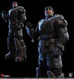 Gears of War 3 - Character Art Dump (new images posted on Pg 17) - Page 9