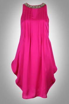 Hot pink dress by Vinegar