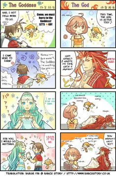 Harvest Moon Animal Parade comics2