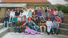 Team uitje Vvo 1 1991