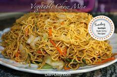 Blogghetti: Sunday Spotlight #5 - Vegetable Chow Mein