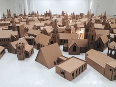 elliot-blog:  Cardboard City in Gallery of Modern Art (GoMA)