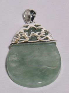 Jade and Gemstone Jewellery - Pendants - Pendants Silver - Green Jade with Sterling - Happy Dragon Arts Jade Pendant, Pendant Jewelry, Gemstone Jewelry, Bangle Bracelets, Bangles, Dragon Art, Lucky Charm, Jade Green, Silver Necklaces