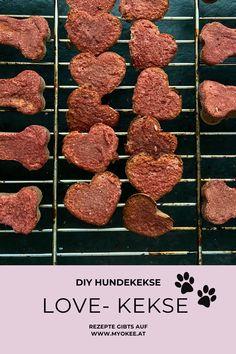 #myokee #backenfürhunde #hunde #backen #kraftschöpfer Diy Love, Cereal, Meat, Breakfast, Blog, Rice Flour, Bakken, Simple