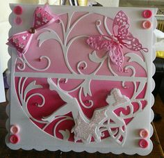 Sharon Ellis : Tonic dies Musical Birthday Cards, Girl Birthday Cards, Hand Made Greeting Cards, Making Greeting Cards, Pinterest Birthday Cards, Tonic Cards, Tattered Lace Cards, Studio Cards, Spellbinders Cards
