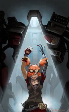 Gaige and her deathtrap