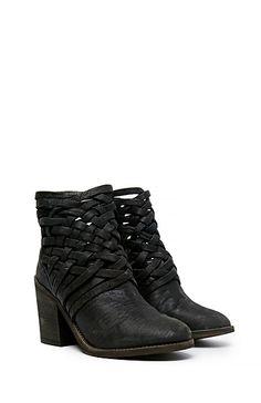 Free People Carrera Heel Boot in Black 6 | DAILYLOOK