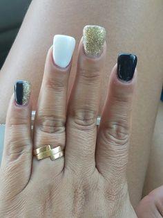 Duck feet! Gel nails