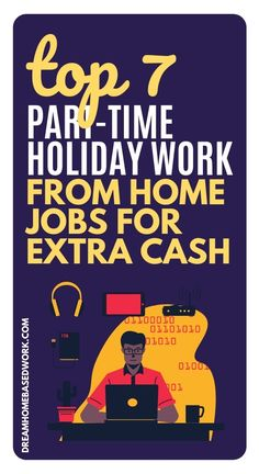 Needing to spend money around the holidays is always a given. It's best to plan for Christmas spending throughout the year and establish a budget and savings plan. Check out these top part-time holiday work from home jobs to earn extra money! #workathome #parttime #onlinejobs Work From Home Companies, Work From Home Opportunities, Work From Home Jobs, Earn Money Online Fast, Earn Money From Home, Make Cash Fast, How To Make Money, Earn Extra Cash, Extra Money
