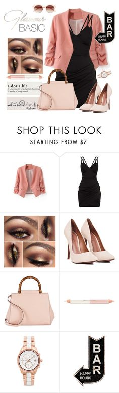 """""""LBD"""" by fashionstudiolondon ❤ liked on Polyvore featuring Gucci, Jane Iredale, Michael Kors and BP."""
