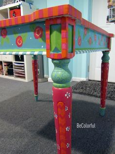 Becolorful: Painted furniture