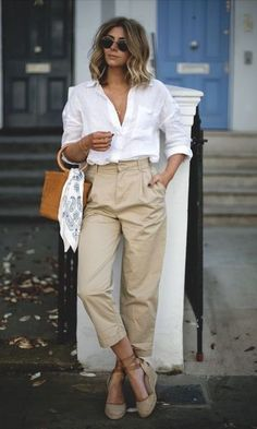 Look Camisa + Calça