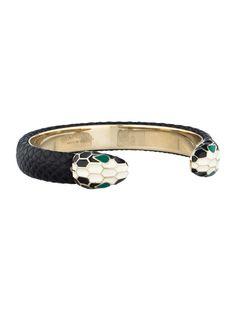 Bvlgari Serpenti Cuff - Jewelry - BUL20293   The RealReal