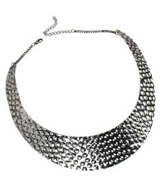 Silver Metal With Beads Necklace US$13.99
