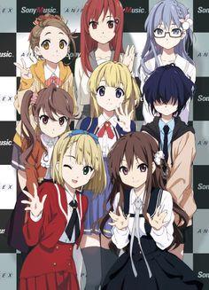 """ Character Designer Draws Main Visual for Digital Idol Group Hd Anime Wallpapers, Bff Drawings, Princess Drawings, Kawaii Anime, Fille Anime Cool, Character Designer, Animes To Watch, Beautiful Dark Art, Friend Anime"
