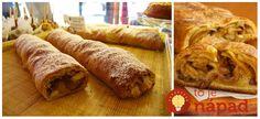 Výborný recept, ktorý u nás doma robím vždy na jeseň, keď mám prvú várku domácich jabĺčok. Je výborná, šťavnatá a úplne jednoducho na prípravu. Zvládnu ju aj vaše deti! French Toast, Food And Drink, Bread, Breakfast, Morning Coffee, Brot, Baking, Breads, Buns