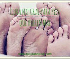 Cura natural para pies que huelen mal