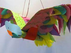 Vreemde vogels - Handvaardigheid groep 8 Incl. beeldmateriaal en lesbeschrijving! Creative Activities, Creative Teaching, Teaching Art, Creative Art, Fun Crafts For Kids, Diy For Kids, Diy And Crafts, Arts And Crafts, Vogel Clipart