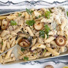 Bederf jou mense met dié heerlike ryk en vinnige pasta-dis.