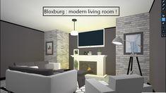 ROBLOX   Welcome to Bloxburg: Modern Living Room/Kitchen ...