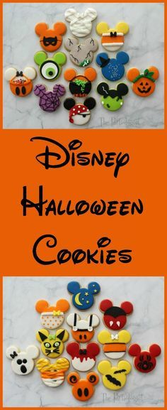 You are in for a treat, no tricks just treats. My plan was to make a dozen Disney themed Halloween cookies for my sister, but then I start...