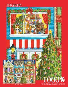 Andrews + Blaine Christmas on Pet Street Puzzle (1000-Piece) Andrews + Blaine http://www.amazon.com/dp/B00K6EY6GO/ref=cm_sw_r_pi_dp_jMtAub1B1X15M