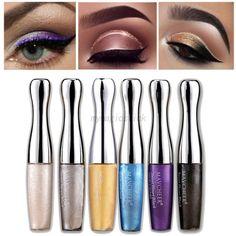 Sliver Tear Glitter Eyeliner Waterproof Liquid Eye Liner Pen Metallic Eye Shadow #Unbranded