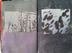 Jane Cornwell - sketchbook Image transfer into sketchbook ( or loose paper) then paint thing washes of either watercolour or acrylic I Artist Journal, Artist Sketchbook, Design Editorial, Sketchbook Inspiration, Handmade Books, Art Photography, Photography Camera, Photography Backdrops, Zine