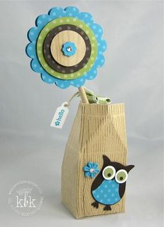Owl Carton - Stampin' Up!