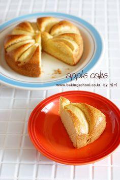사과 케이크 - 베이킹스쿨(교훈:배워서남주자)