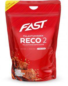 FAST RECO2 on vähälaktoosinen palautumisjuoma, joka soveltuu kaikkiin lajeihin, kuten kuntosaliharjoitteluun, jääkiekkoon, kontaktilajeihin ja kestävyysurheiluun.