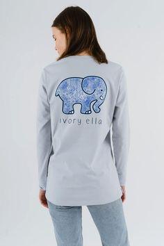 03e2ecacd Ella Fit Organic Moonstone Wavelets Tee. Ivory Ella