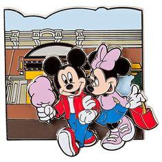 Minnie and Mickey Mouse Main Street Cinema Pin