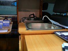VW bus interior so cool!