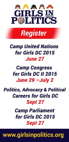 54 Best Girls in Politics Initiative™ Camps & Programs