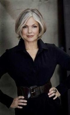 20 Short Hair Styles For Women Over 50 | http://www.short-haircut.com/20-short-hair-styles-for-women-over-50.html #over50fashion2017 #women'sfashionover50