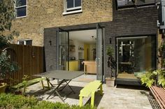 View from garden, House for Two Artists, Gort Scott Architects