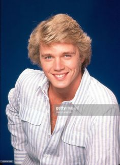 Actor John Schneider poses for a portrait in 1983 in Los Angeles, California. Bo Duke, John Schneider, Dylan And Cole, Blonde Moments, 70s Tv Shows, Actor John, Cute Actors, Music Tv, Celebrity Crush