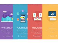 On this website, we've argued for some time that designers and illustrators need to be aware of motion design trends, because these skills are becomin. Design Sites, Interaktives Design, Web Design Trends, Design Layout, Onboarding App, Ui Ux, Ui Design Mobile, Mobile Ui, User Interface Design