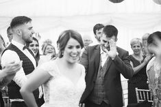 Greeting the newlyweds. A real wedding by Couple Photography. Colorful Bedding, Marquee Wedding, Love Couple, Newlyweds, Couple Photography, Real Weddings, Irish, Couple Photos, Couples