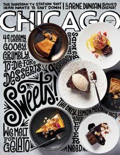 Chicago Magazine - Food cover for November 2016