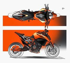 bike discription Bike Sketch, Car Sketch, Futuristic Motorcycle, Futuristic Cars, Concept Motorcycles, Custom Motorcycles, Duke Motorcycle, Motorbike Design, Scooter Design